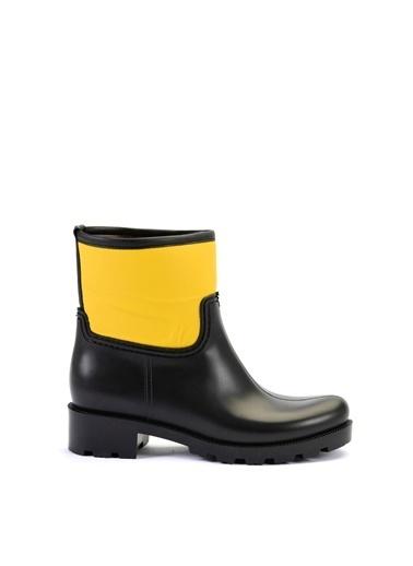 Esem ESEM B0001 Yağmur Botu Kadın Ayakkabı Koyu Sarı Sarı